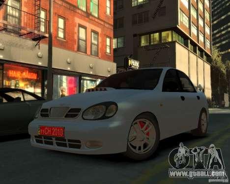 Daewoo Lanos for GTA 4