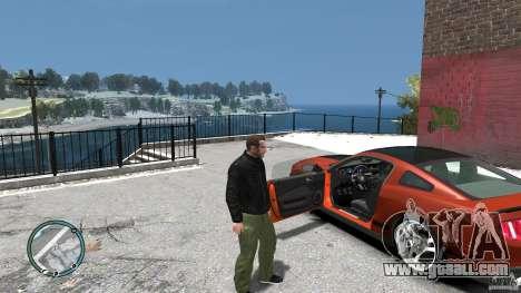 Ford Mustang Boss 302 2012 for GTA 4 inner view