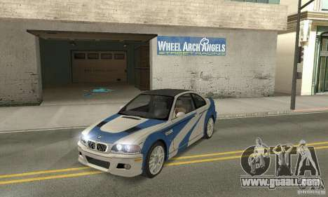 BMW M3 Tunable for GTA San Andreas inner view
