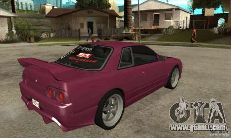 Nissan R32 JDM for GTA San Andreas right view