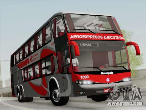 Marcopolo DD800 Volvo B12R for GTA San Andreas left view