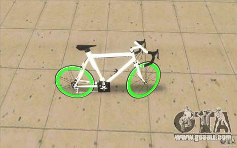 Fixie Bike for GTA San Andreas left view