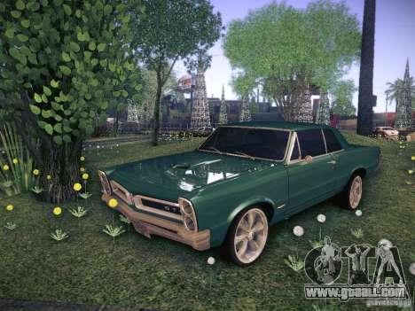 Pontiac GTO 65 for GTA San Andreas