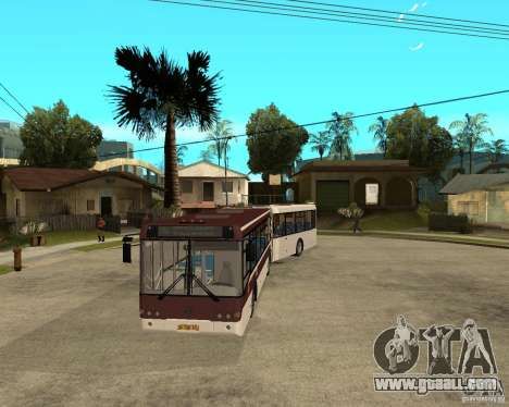 LIAZ 6213.20 for GTA San Andreas back view
