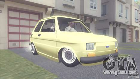 Fiat 126 for GTA San Andreas