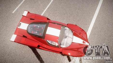 Ferrari FXX for GTA 4 upper view