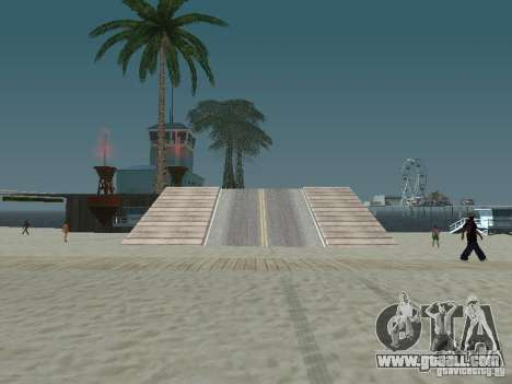The mystery of the tropical islands for GTA San Andreas second screenshot