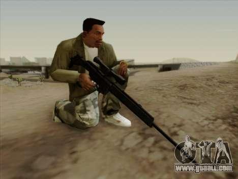 HK PSG 1 for GTA San Andreas third screenshot
