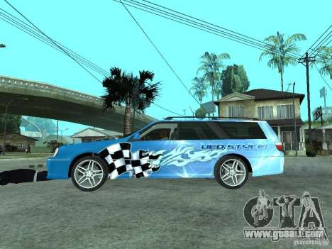 Nissan Stagea 25RS four S for GTA San Andreas left view