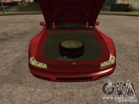 HD Cheetah for GTA San Andreas right view