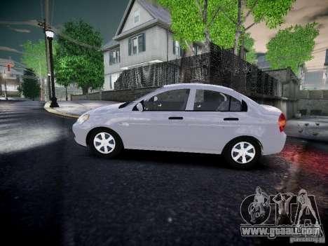 Hyundai Accent Era for GTA 4 left view