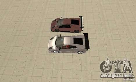 Lamborghini Murcielago R GT for GTA San Andreas wheels