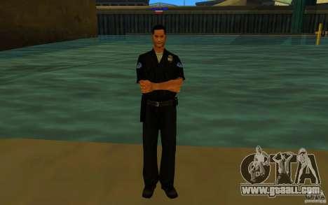 HQ skin lapd1 for GTA San Andreas third screenshot