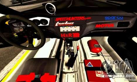 Mitsubishi Lancer Evolution VIII - ProSpeed for GTA San Andreas inner view
