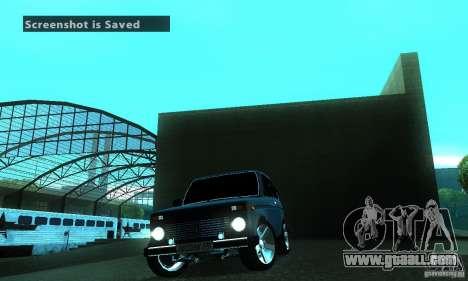 VAZ 21213 NIVA FBI for GTA San Andreas inner view