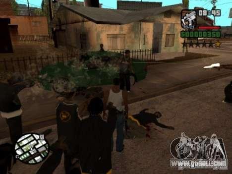 Call of Homies for GTA San Andreas third screenshot