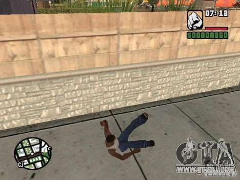 PARKoUR for GTA San Andreas tenth screenshot