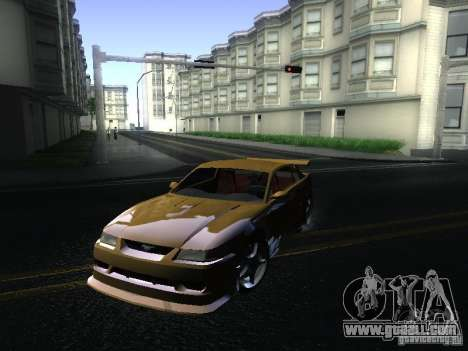 Ford Mustang SVT Cobra for GTA San Andreas left view