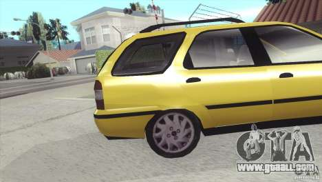 Fiat Palio Weekend 1997 for GTA San Andreas right view