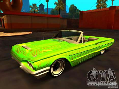 Ford Thunderbird 64 LowRider for GTA San Andreas side view