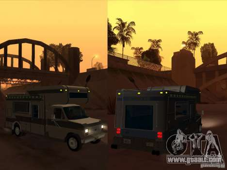 1986 Ford Econoline for GTA San Andreas side view