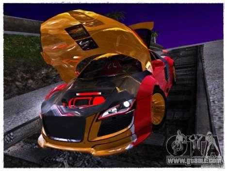 Audi R8 Calibri-Ace for GTA San Andreas right view