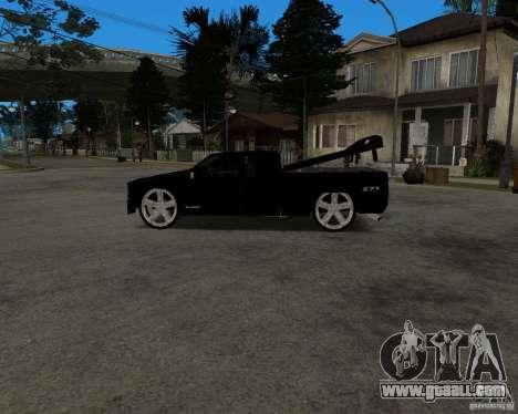 Chevrolet Silverado 1996 Lowrider for GTA San Andreas back view