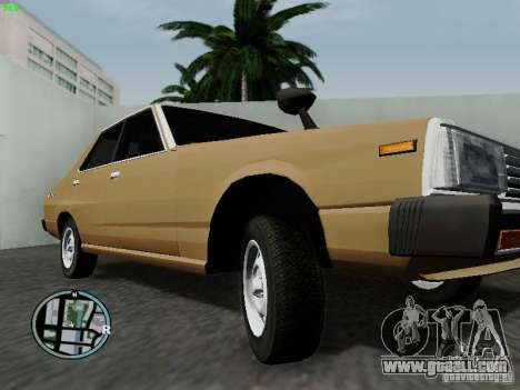 Nissan Skyline 2000GT C210 for GTA San Andreas inner view