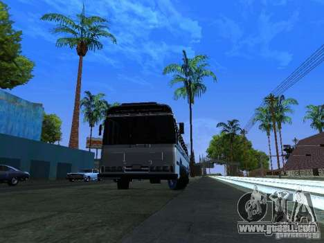 Prison Bus for GTA San Andreas back left view
