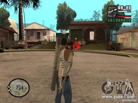 The standard sight for GTA San Andreas third screenshot