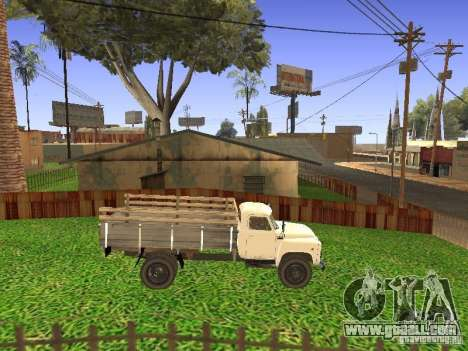 GAZ 53 for GTA San Andreas right view