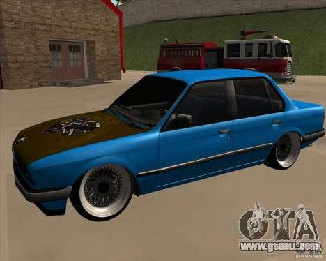 BMW E30 325e Duscchen for GTA San Andreas right view