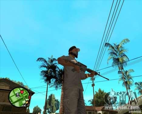 M4 Carbine for GTA San Andreas second screenshot
