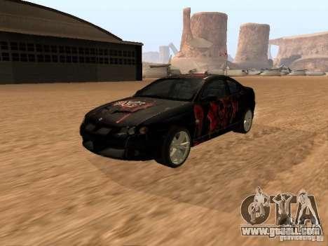 Vauxhall Monaro for GTA San Andreas side view
