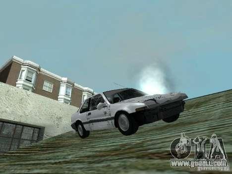 Honda Accord for GTA San Andreas back view