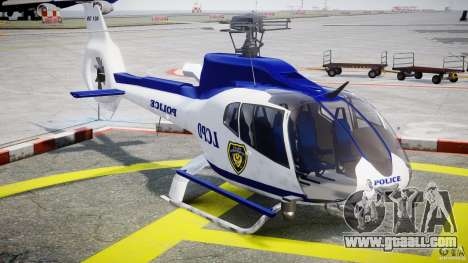 Eurocopter EC 130 LCPD for GTA 4 back view