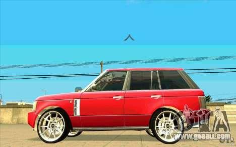 NFS:MW Wheel Pack for GTA San Andreas twelth screenshot