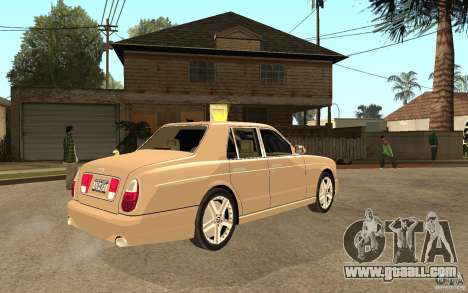 Bentley Arnage for GTA San Andreas right view