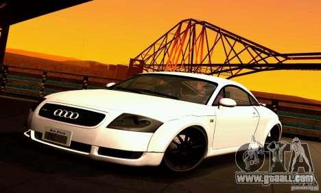 Audi TT Light Tuning for GTA San Andreas
