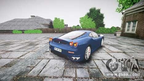 Ferrari F430 v1.1 2005 for GTA 4 back left view