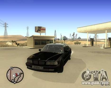 BMW 740il e38 for GTA San Andreas
