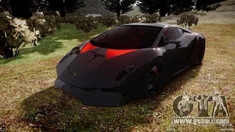 Lamborghini Sesto Elemento 2011 for GTA 4 back view