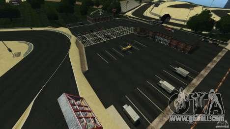Laguna Seca [HD] Retexture for GTA 4 forth screenshot