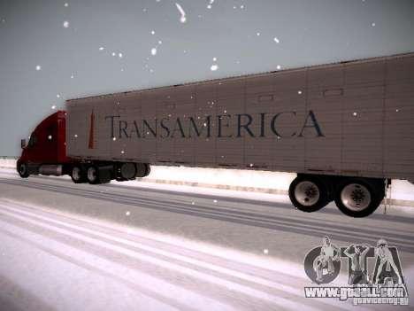 Trailer Artict1 for GTA San Andreas inner view