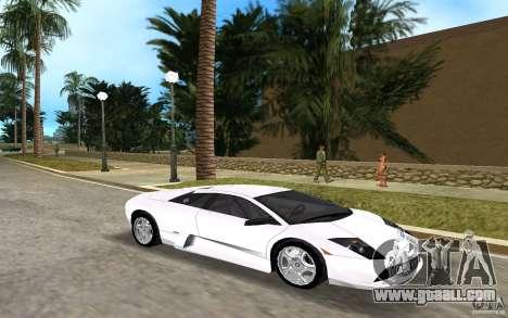 Lamborghini Murcielago V12 6,2L for GTA Vice City left view