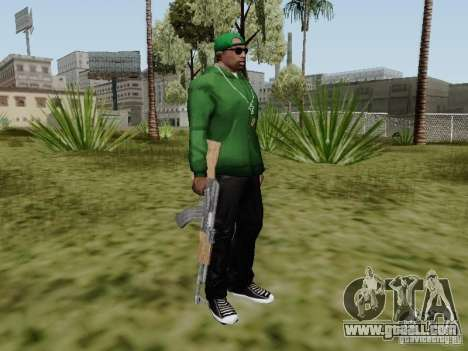 AK-47 of Saints Row 2 for GTA San Andreas fifth screenshot