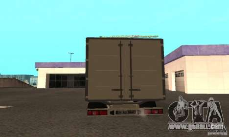 Mitsubishi Fuso Center for GTA San Andreas left view