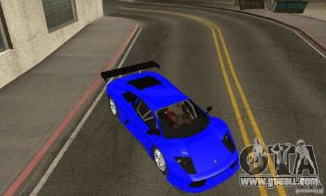 Lamborghini Murcielago R GT for GTA San Andreas side view
