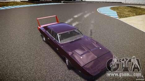 Dodge Charger Daytona 1969 [EPM] for GTA 4 engine