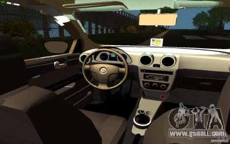Volkswagen Saveiro for GTA San Andreas right view